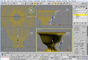 3dsMAX Урок 10. Модификаторы: Edit Spline, Bevel, Bevel Profile.